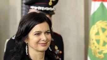 Vorsitzende des Abgeordnetenhauses, Laura Boldrini (Archiv)