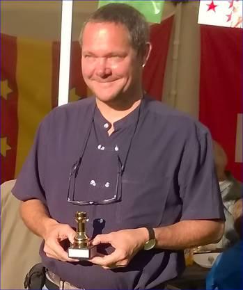 Schachmeister Rheinfelden 2014, Volker Stolle aus Hasel (Baden).