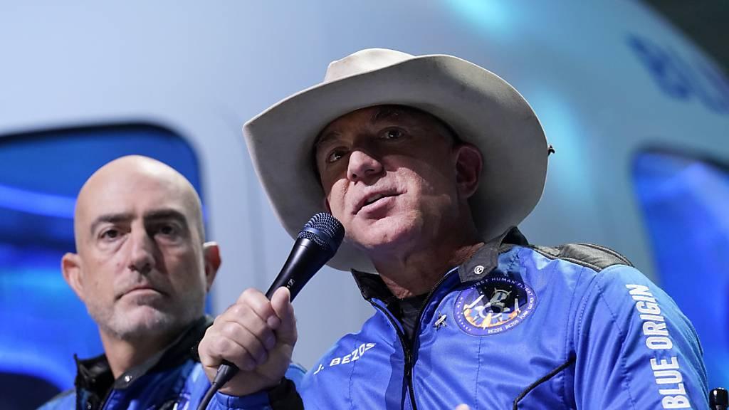 Raumfahrtfirma von Amazon-Gründer Bezos plant eigene Station im All