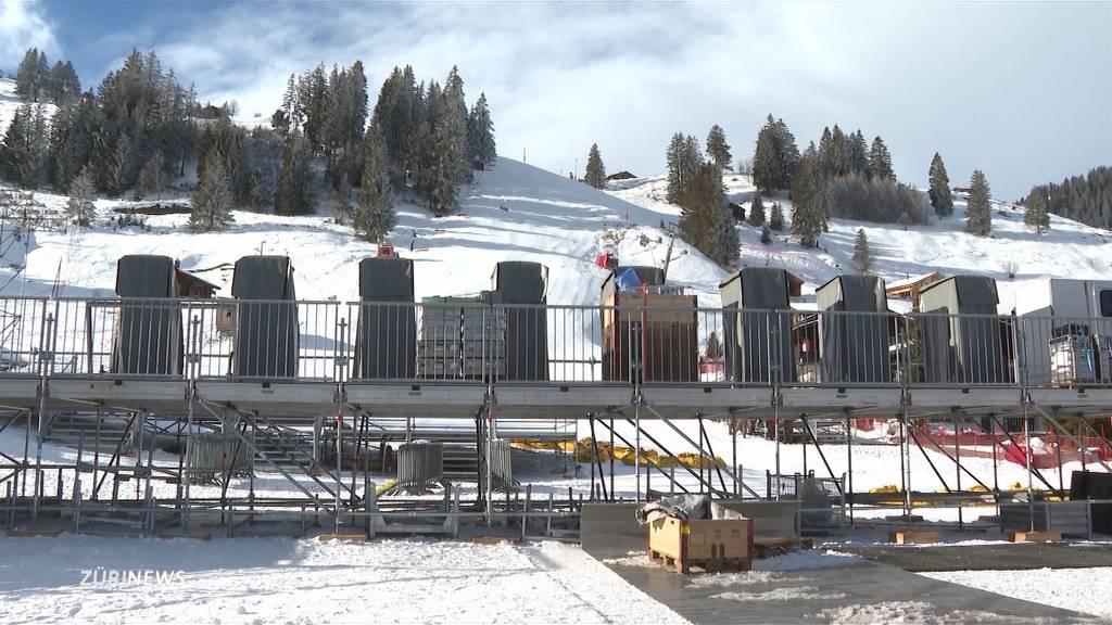 Ski-Rennen in Adelboden ohne Zuschauer: Wichtige Einnahmequelle fehlt