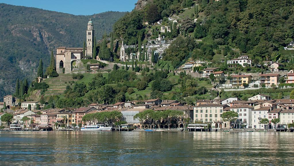 Das Tessiner Dorf Morcote, einer der 20 ausgewählten Orte des Projektes «Verliebt in schöne Orte» von Schweiz Tourismus und Bundesamt für Kultur. (Archivbild)