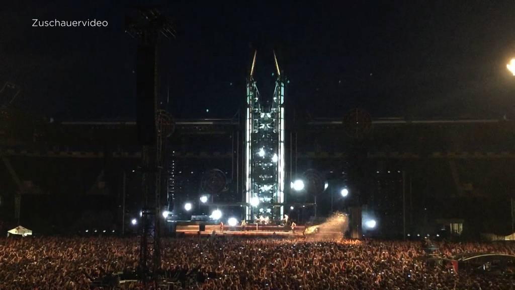 """Rammstein Konzert: """"Das Konzert war seit Monaten ausverkauft"""""""