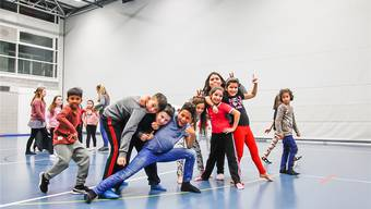 «Feel the Move Kids» im Schulhaus Brühl in Solothurn