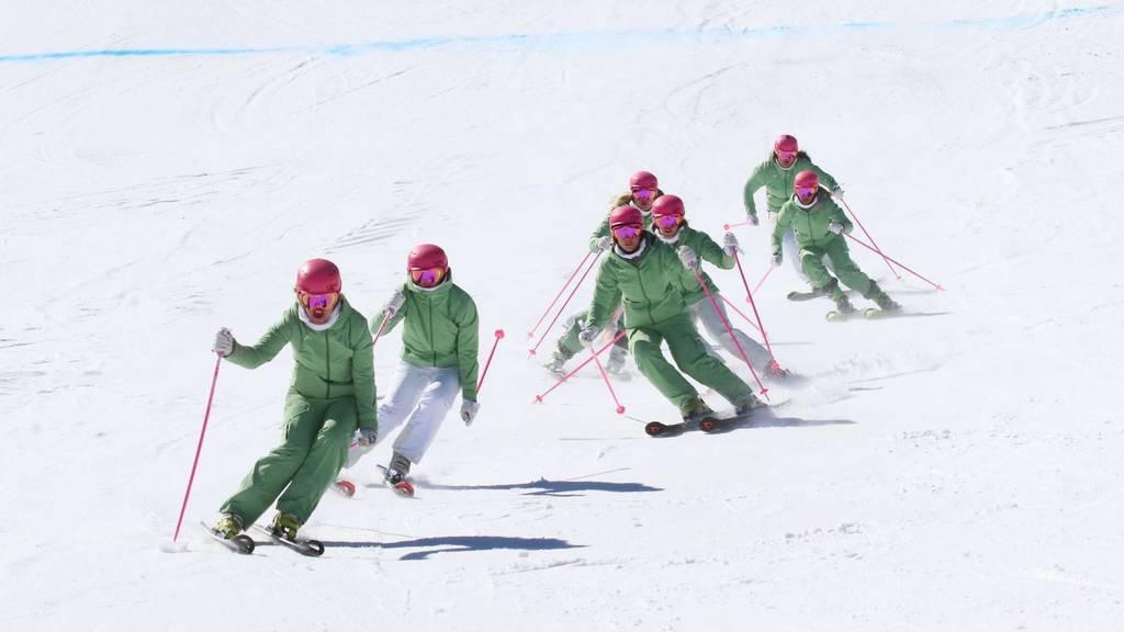 Die Toggenburgerinnen sind Schweizer Meister im Formationsfahren.