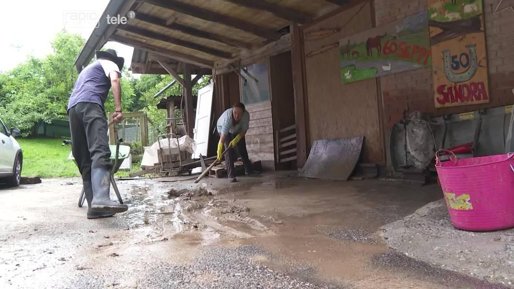Familie aus Pfaffnau wird erneut von Hochwasser getroffen