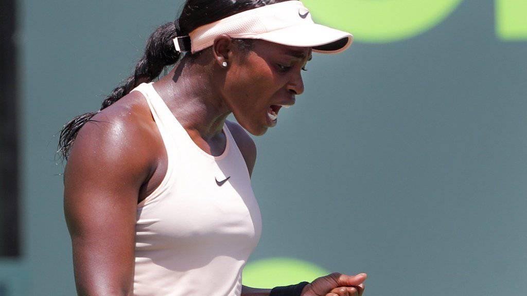 Sloane Stephens gewinnt in Miami ihren ersten WTA-Premier-Titel