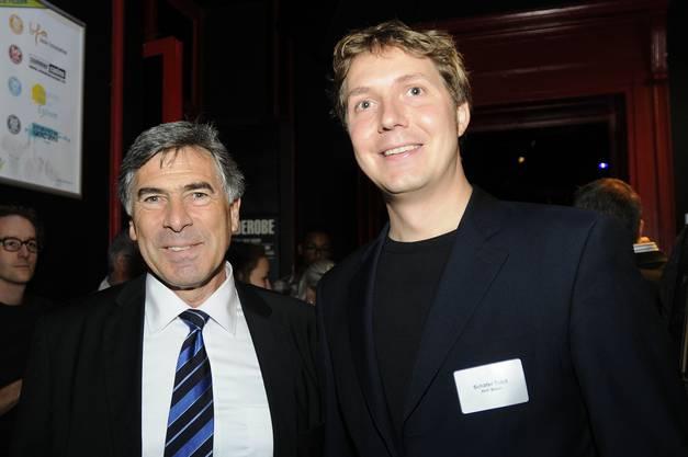 Christoph Eymann und Tobit Schäfer