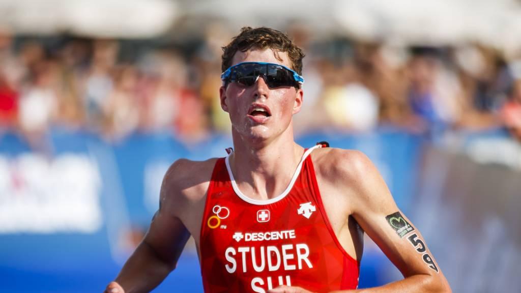 Max Studer zeigt an der Sprint-WM in Hamburg eine gute Leistung