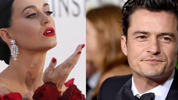 Es soll alles aus sein zwischen Katy Perry und Orlando Bloom. (Archivbilder)