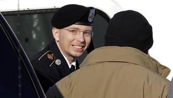 Bradley Manning wird ins Gericht geführt