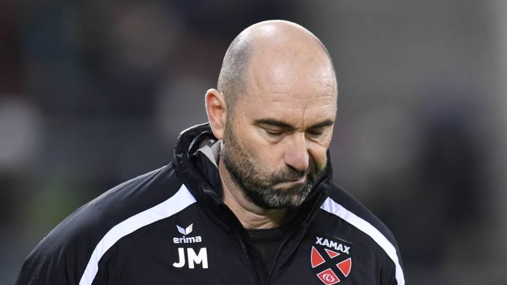 Xamax' Joël Magnin sollte im Trainerduell mit Namensvetter Ludovic Magnin unbedingt Punkte einfahren.