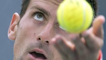 Novak Djokovic verlor den Fokus gegen Monfils nicht