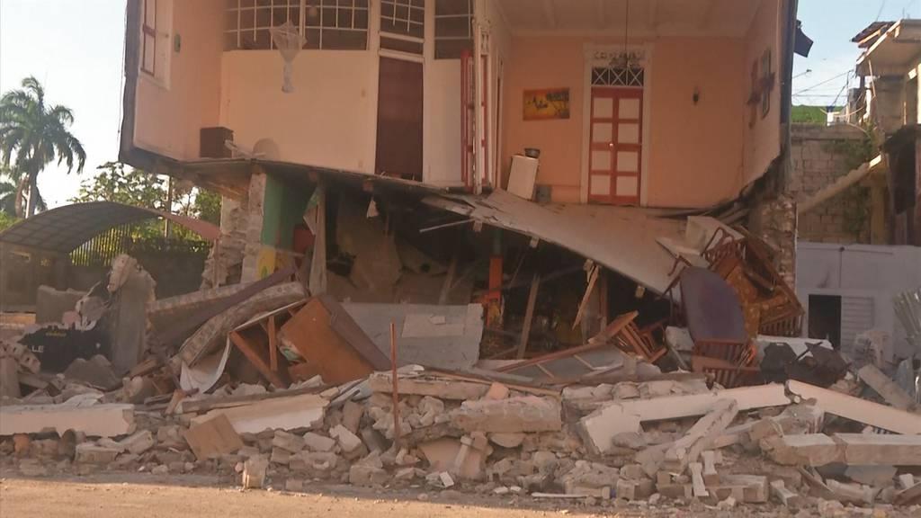 Schweres Erdbeben in Haiti: Mindestens 300 Tote