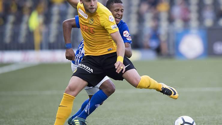 Yoric Ravet zieht weiter und verlässt die Young Boys in Richtung Bundesliga