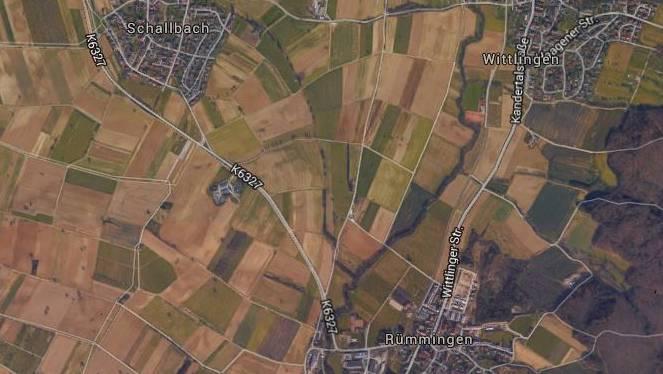 Der Raser wurde auf der Landstrasse zwischen Rümmingen und Schallbach erwischt.