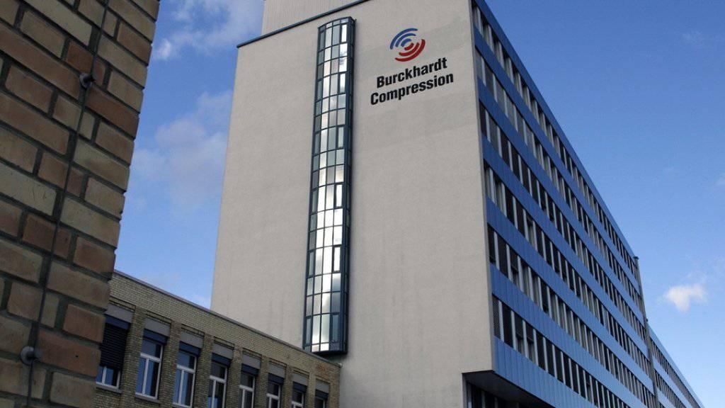 Der Sitz von Burckhardt Compression in Winterthur. (Archivbild)
