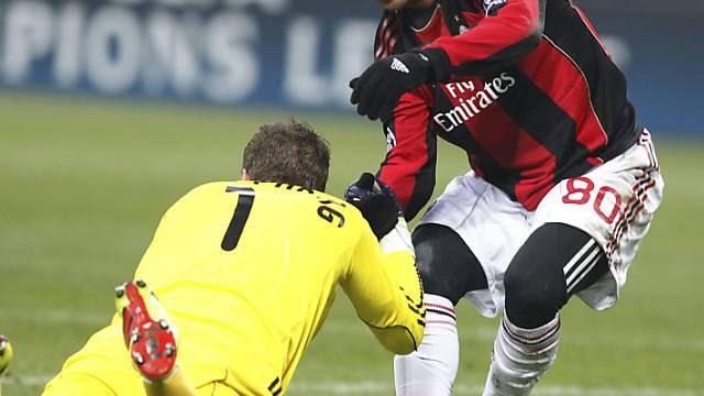 Ronaldinho stürmt in Zukunft nicht mehr im Milan-Dress