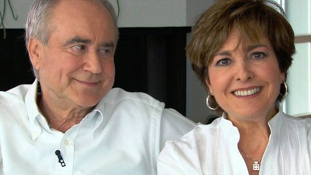 Kurt und Paola Felix in ihrem Haus in St. Gallen (9.8.2010).