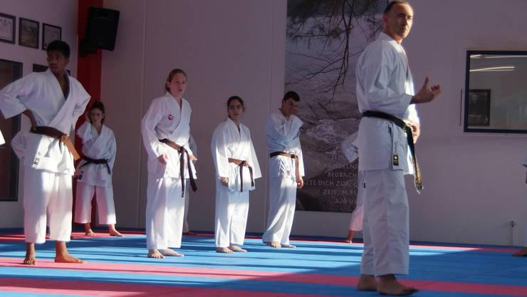 Konzentration ist ein wichtiger Bestandteil des Karate.