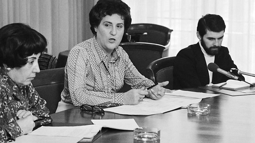 Feministin Jacqueline Berenstein-Wavre 99-jährig gestorben