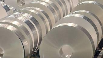 Die Aluminiumindustrie leidet (Archiv)
