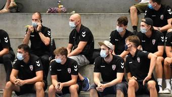 Zwei namentlich nicht genannte Spieler des HSC Suhr Aarau wurden Anfang Woche positiv auf das Coronavirus getestet.