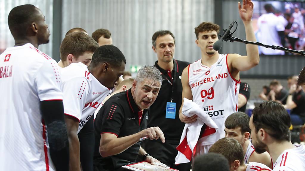 Schweizer Basketballer drohen EM 2022 zu verpassen