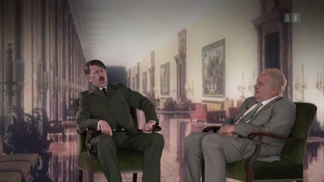 Giacobbo-Hitler ernennt Wermuth zum Hauptsende-Sturmbannleiter