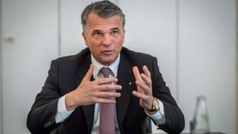 Der Chef der UBS, Sergio Ermotti. Foto: Mathias Marx