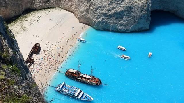 Navagio Beach, Griechenland