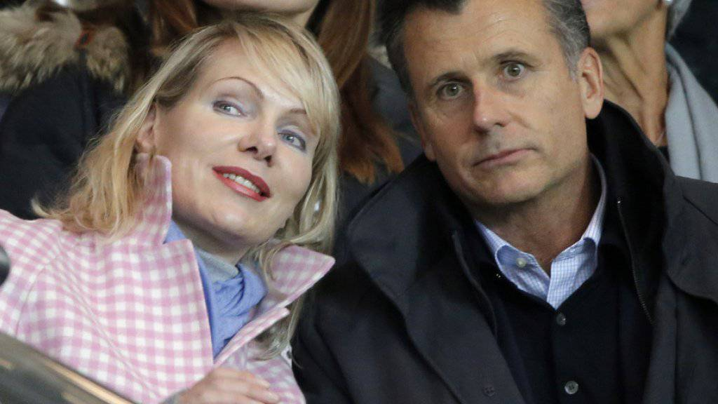 Margarita Louis-Dreyfus und Philipp Hildebrand sind glückliche Eltern von Zwillingsmädchen (Archiv).