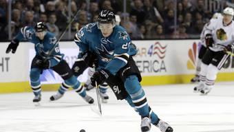 Timo Meier spielt wohl bald wieder im Dress von San Jose Sharks