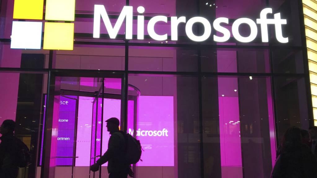 Der Microsoft-Konzern teilte weltweite Systemausfälle bei einigen seiner Dienste mit. (Archivbild)