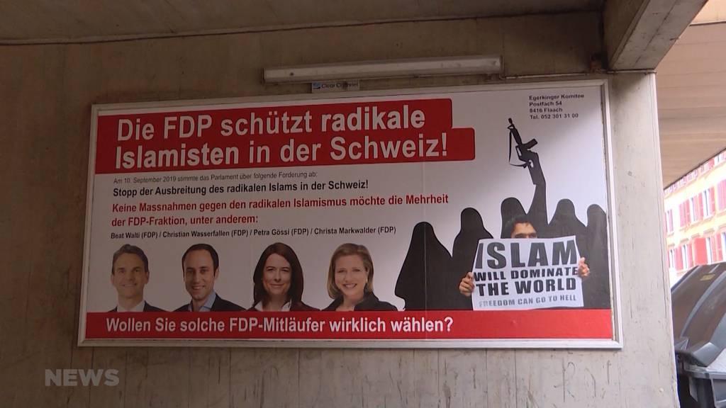 FDP zeigt Egerkinger Komitee an