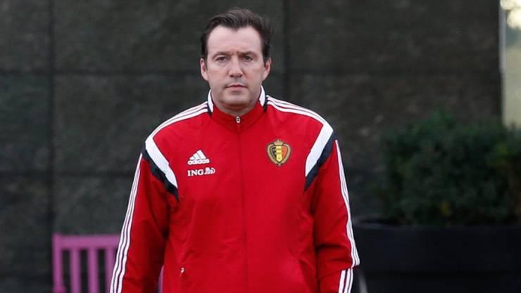 Kein Testspiel für Belgiens Coach Marc Wilmots und sein Team