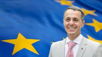 Bald Aussenminister: Ignazio Cassis.