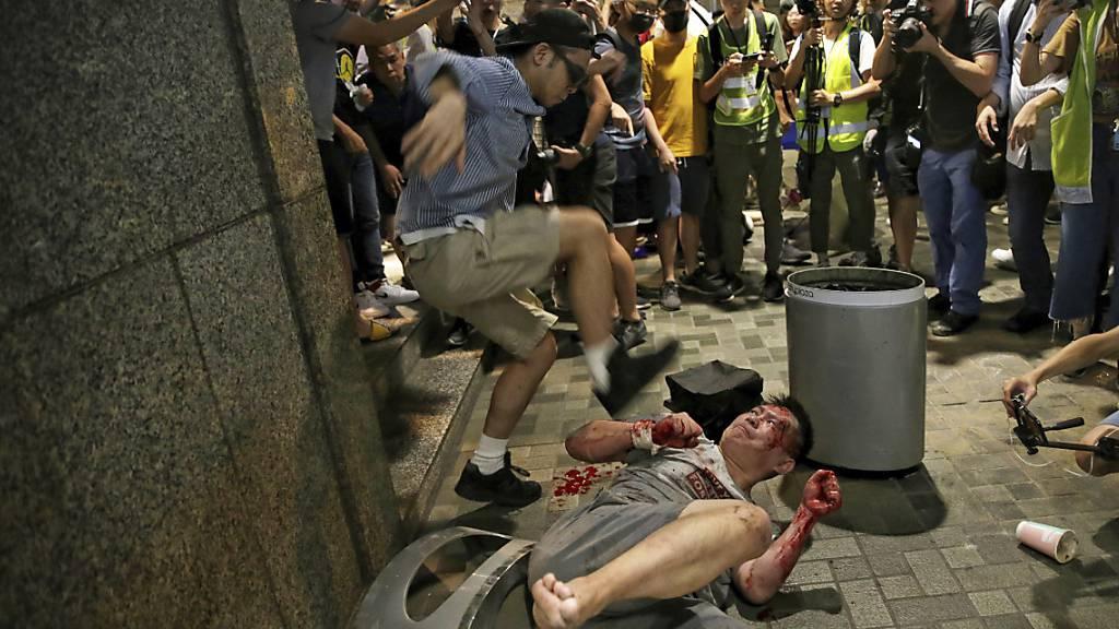 Chinesische Medien fordern «härtere Linie»gegenüber Hongkong