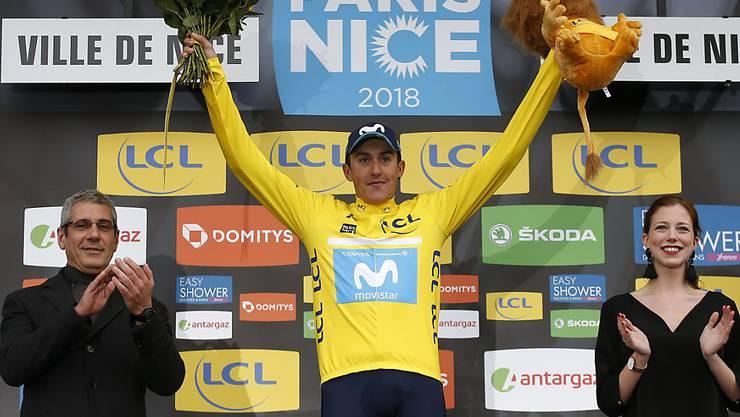 Triumphierte überraschend bei Paris - Nizza: der Spanier Marc Soler