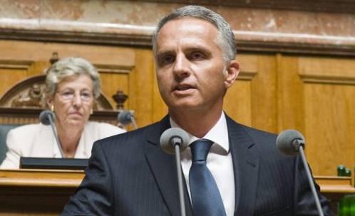 Der neue Bundespräsident heisst Didier Burkhalter (Archiv)