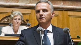 Aussenminister Didier Burkhalter ist neuer Bundespräsident