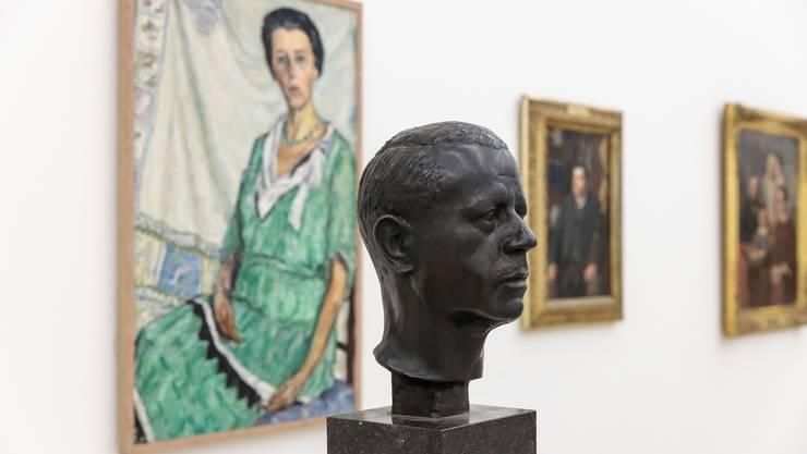 Eine der aktuellen Ausstellungen im Kunstmuseum Solothurn: Genius Loci Salodorensis.