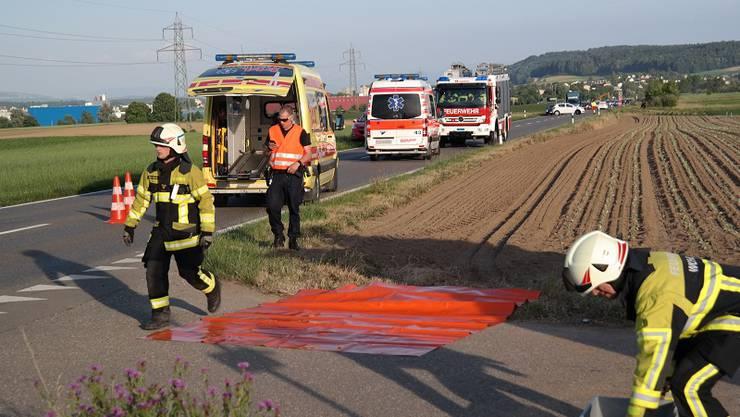 Einsatz bei der Feuerwehr Rietenberg.