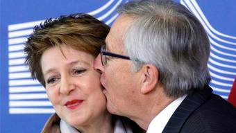 Schweiz-Freund Juncker tritt ab.