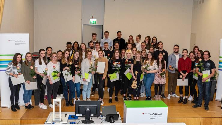 talents@bbzolten – die Plattform für Talente des Jahrgangs. Drei Prozent der besten Abschlussarbeiten am BBZ Olten wurden ausgezeichnet.