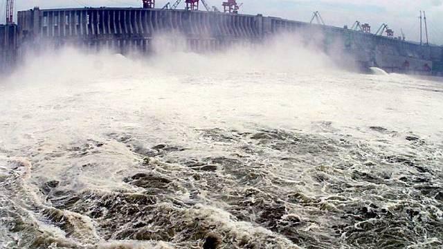 Höchster Pegel am Drei-Schluchten-Damm erreicht: Putzaktion durchgeführt