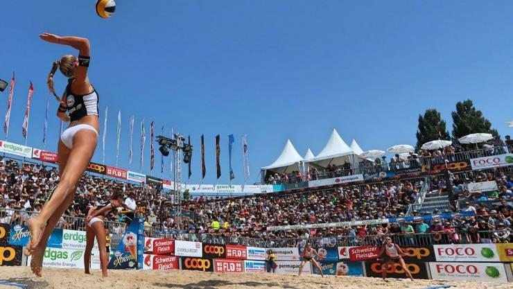 An der Beachvolleyball SM holten die Aargauer sieben Medaillen.