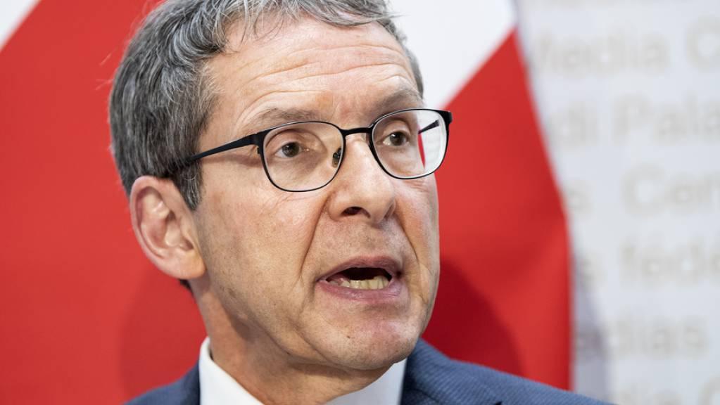 Der langjährige Aargauer Regierungsrat Urs Hofmann (SP) tritt bei den Wahlen diesen Herbst nicht mehr an. Er sitzt seit über zehn Jahren in der Aargauer Kantonsregierung.