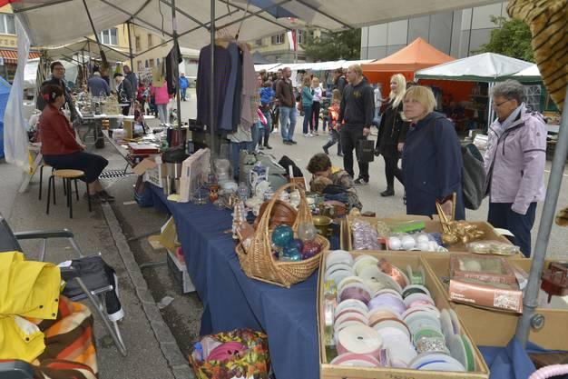 Grenchner Fest Samstag Im Bild: Schmelzi-Flohmarkt