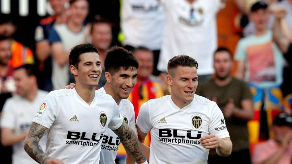 Getafe kann Valencia nicht mehr abfangen