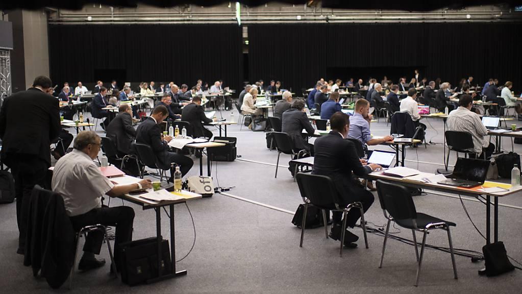 Wie immer bei der Beratung des Budgets im St.Galler Kantonsrats werden die Personalausgaben zu Diskussionen führen. (Archivbild)